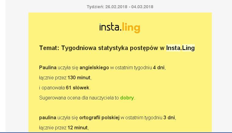 instaling nauka słowek