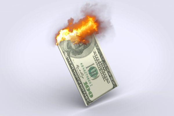 stracone pieniądze