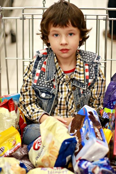 zakupy bez dzieci