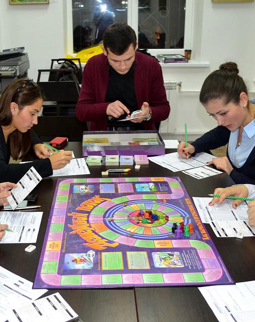 gry ekonomiczne - cashflow