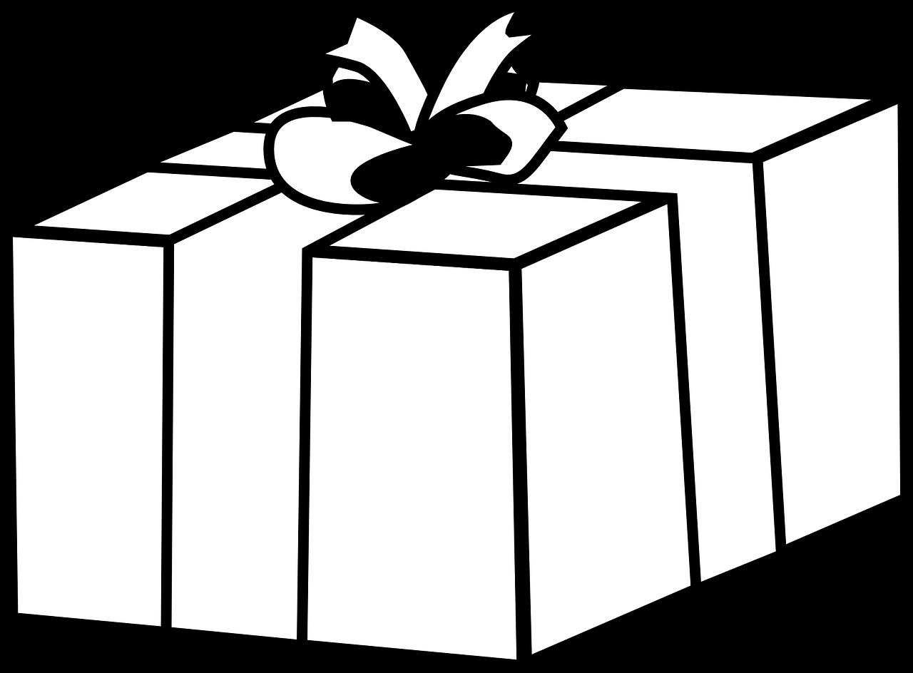 Rysunki świąteczne dla dzieci - prezent